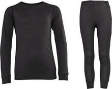 Revolution J Underwear Set Lasketteluvaatteet BLACK