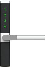 Låsbart handtag till spanjoletthandtag med kodlås BG Vision Home - Höger - 8 x 110 mm