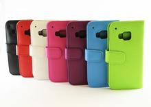 Plånboksfodral HTC One (M9) (Svart)