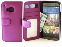 Plånboksfodral HTC One (M9) (Lila)
