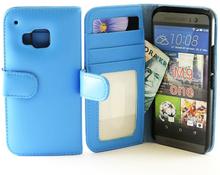 Plånboksfodral HTC One (M9) (Ljusblå)