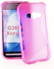 S-Line skal Samsung Galaxy Xcover 3 (SM-G388F) (Hotpink)