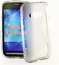 S-Line skal Samsung Galaxy Xcover 3 (SM-G388F) (Grå)