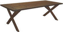 Matbord Oxford 220 cm - Brunlaserat