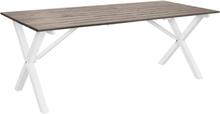 Matbord Scottsdale 190 cm -Shabby Chic grå