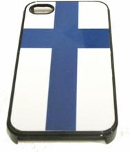 Mobilskal - Finlands Flagga (iphone 4 4S) 59f6dfe3ea469