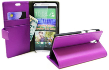 Standcase Wallet HTC Desire 620/620G (Lila)