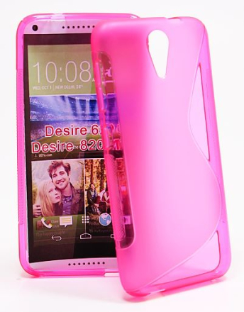 S-Line skal HTC Desire 620/620G (Hotpink)