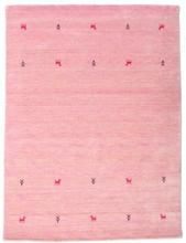 Gabbeh loom Two Lines - Rosa matta 140x200 Orientalisk Matta