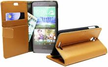 Standcase Wallet HTC Desire 510 (Brun)