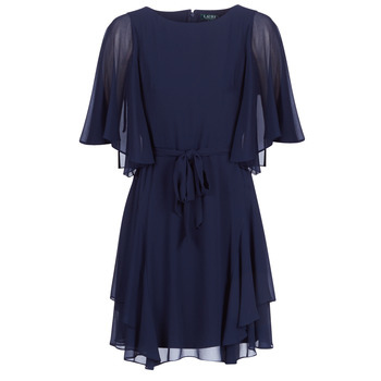 Lauren Ralph Lauren Korte kjoler NAVY-3/4 SLEEVE-DAY DRESS Lauren Ralph Lauren