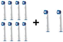 Borsthuvuden Precision Clean refilleltandborsthuvuden 10-pack