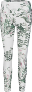 Super.natural Women's Super Tights Printed Dame treningsbukser Hvit M