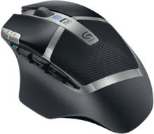 Gaming Mouse G602 - Mus - laser - 11 knap - Gamingmus - Laser - 11 knappar - Svart med RGB ljus