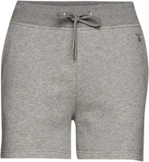 Tonal Shield Sweat Shorts Shorts Flowy Shorts/Casual Shorts Grå GANT
