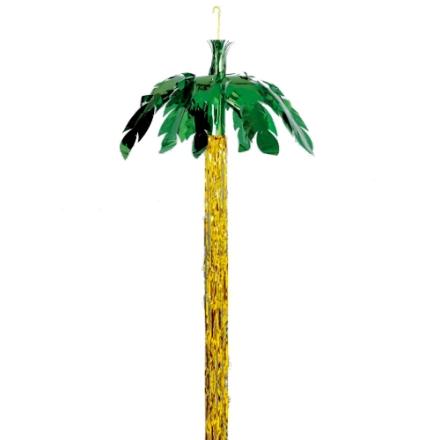 Hænge uro Palmetræ guld