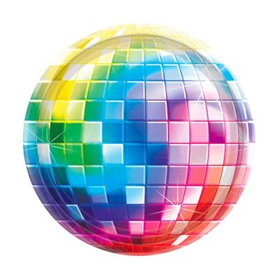 Disco Fever Tallerken 17,7 cm