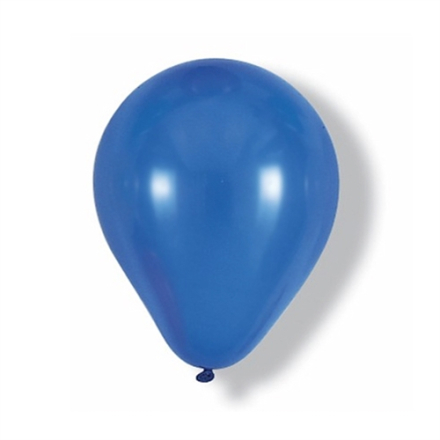 "Ballon 14"" Navyblå Metallic"