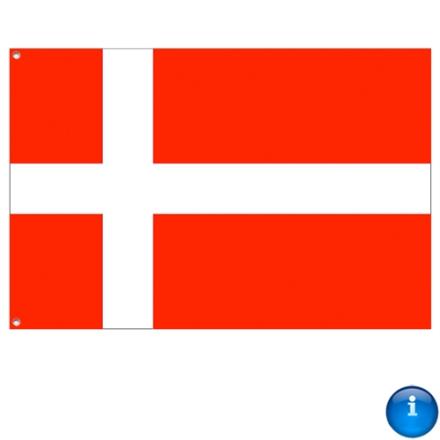 Dansk stof flag