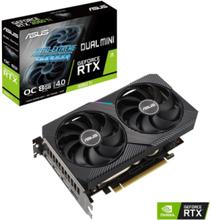 GeForce RTX 3060 Ti DUAL MINI OC V2 LHR - 8GB GDDR6 SDRAM - Grafikkort