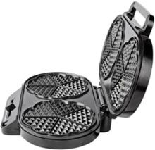 Vohvelirauta KAWP110FBK - waffle maker - black / silver