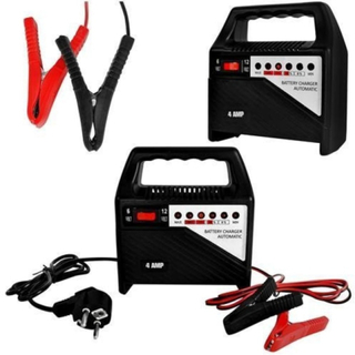 Batteriladdare Till Fordon Och Industri 6v-12v 4a