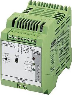 Järnväg-montera UPS (DIN) Phoenix Contact MINI-DC-UPS/24DC/2