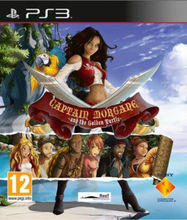 Captain Morgane and the Golden Turtle - PlayStation 3 - Äventyr