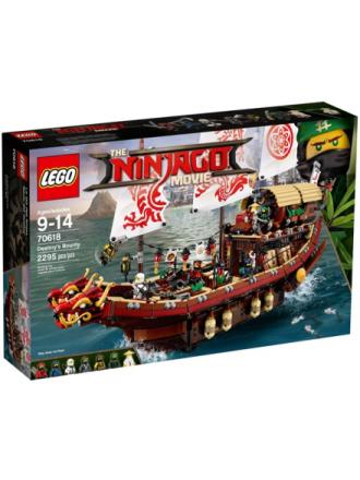Ninjago Destiny's Bounty - 70618 - Proshop
