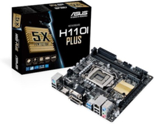H110I-PLUS Moderkort - Intel H110 Express - Intel LGA1151 socket - DDR4 RAM - Mini-ITX