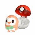 Pokémon Figurer - Rowlett I Pokéball Sæt - Gucca