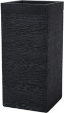 Kukkaruukku musta 33x33x70 cm DION