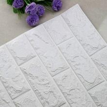 Seinätarra/Wallsticker Tiili 70cm x 77cm Valkoinen