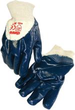 Ox-On NBR Comfort med beläggning i handflatan handske storl. 10