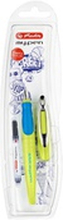 Herlitz - Pióro wieczne my.pen Color Blocking Sporty Lemon