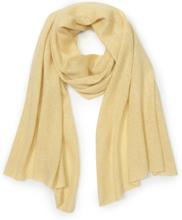 Schal aus Seide Kaschmir Peter Hahn gelb
