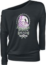 Alice in Wonderland - Mad -Langermet skjorte - svart