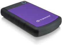 """Transcend Transcend 2,5"""" ekstern harddisk 1TB, USB 3.0, lilla"""