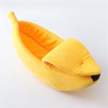 Bananenförmiges Tierbett
