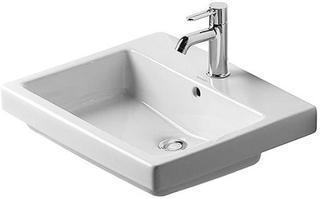 Duravit Vero håndvask m/hanehul 55 cm