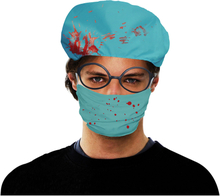 Kirurgmössa med Munskydd - One size