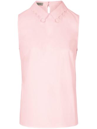 Ärmlös dra på-blus från Uta Raasch rosa