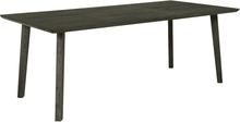 New York matbord 210 cm - Brunbetsad ek