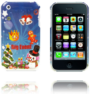 Merry Christmas (Stor Event) iPhone Deksel for 3G/3GS