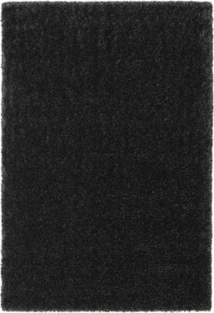 Lotus - Mörkgrå matta 200x300 Modern Matta