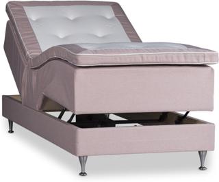 Ställbar säng Särö Deluxe 90x200cm Pocket / Pocket - Rosa
