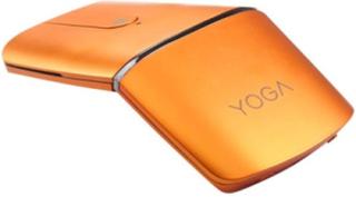 Yoga Mouse - mus/fjernstyring - 2.4 GHz Bluetooth 4.0 - orange - Mus / fjernbetjening - Optisk - 4 knapper - Orange