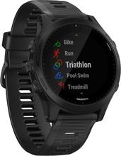 Garmin Forerunner 945 GPS Handgelenk-basierte Herzschlag Sportuhr - Schwarz (nur uhr) (010-02063-00) (Nur USA- und Kanada-Karte) (EU-Sprachen unterstützen)