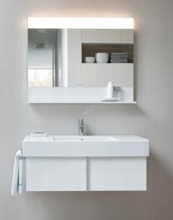 Duravit Vero Møbelsæt m/skuffe 85x49, Hvid mat
