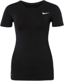 Nike Performance PRO Tshirt bas black/white